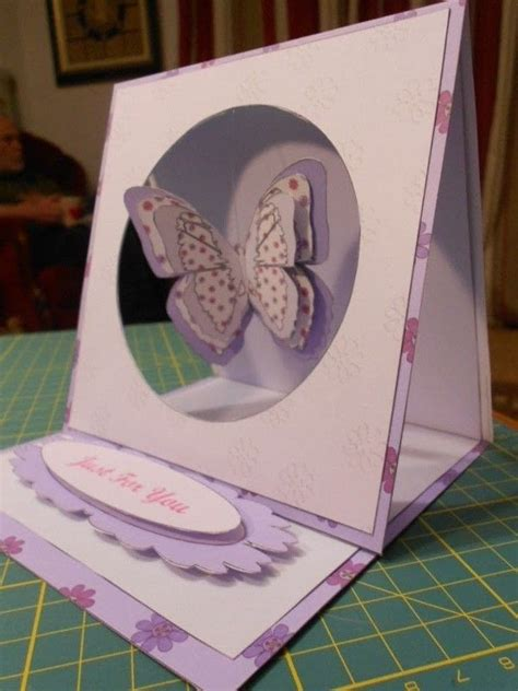 butterfly easel card template butterfly hanging easel card 183 how to make a greetings