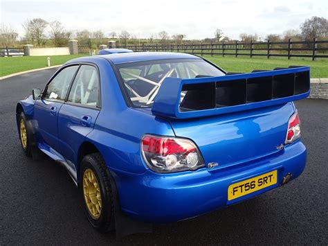 subaru impreza wrc for sale subaru impreza wrc s12b driven by petter solberg and colin