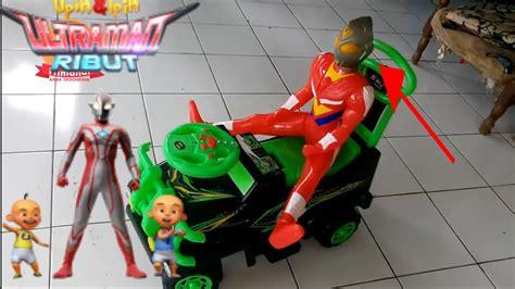 Mainan Robot Ultraman 988 3 ultraman ribut ipin dan upin versi robot mainan