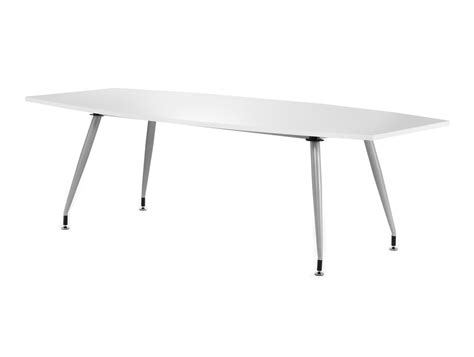 White Gloss Meeting Table Dynamo Boardroom Table In High Gloss 6 To 8 Seater In White