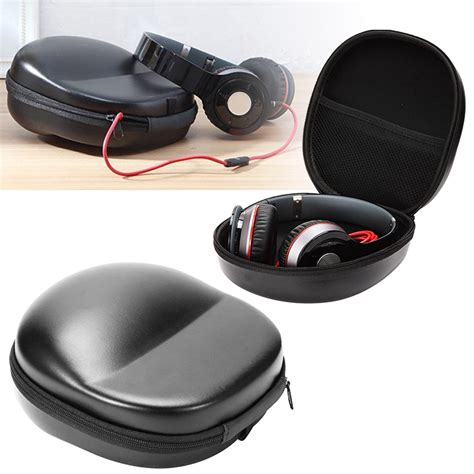 Universal Carrying Storage For Headphones portable carry headset earphone headphone bag storage box holder ebay