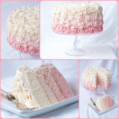A Bouquet of Roses   How To Make A Rose Ombre Cake