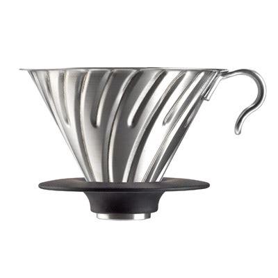 Bonus Cloth Filter V60 Ukuran 02 Coffee Dripper Gater Mirip Hario v60 metal dripper 02 hairline silver hario co ltd