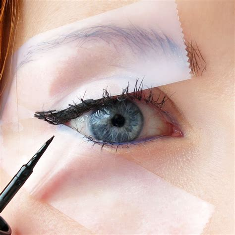 Eyeliner My 5 tips on how to achieve freestyle winged eyeliner pretty designs