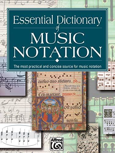 Essential Dictionary Of Music Notation Pocket Size Book