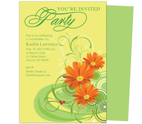 invitation templates for pages mac 40th birthday ideas birthday invitation templates for mac