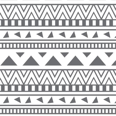 aztec pattern black and white grey and white aztec print fabric coramaedesign