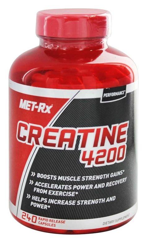 creatine 4200 review buy met rx creatine 4200 240 capsules at luckyvitamin