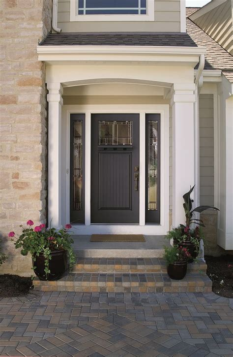 entry door colors therma tru 2014 entry door color trends builder magazine