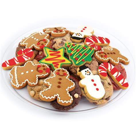 christmas cookie tray christmas cookie favors cookies