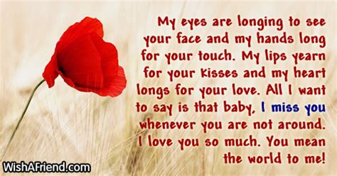 Miss You Messages For Husband With Images