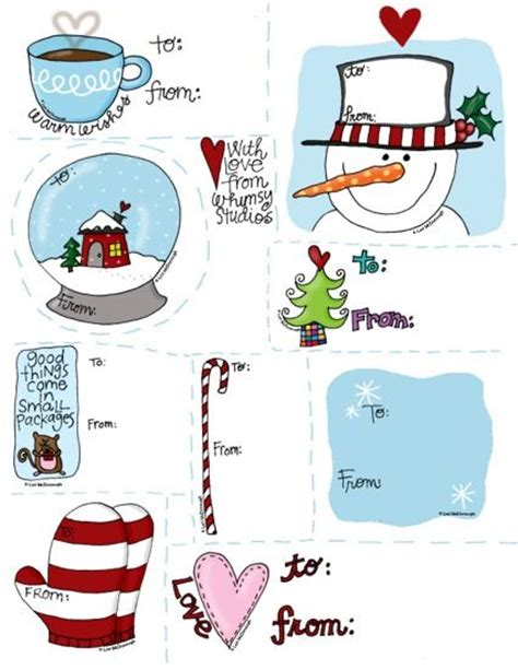 printable winter gift tags i love these free gift tags from fresh picked whimsy