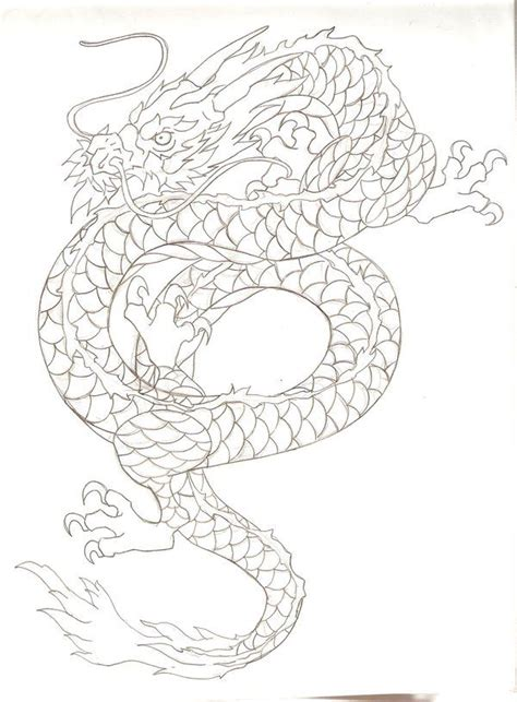 tattoo japanese stencils 26 best japanese dragon tattoo stencil images on pinterest