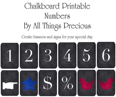 free printable chalkboard banner numbers chalkboard numbers by allthingsprecious on deviantart
