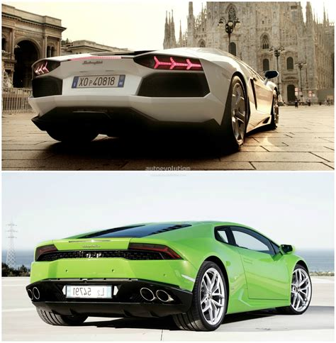 What Is Faster Lamborghini Or Lamborghini Comparison Huracan Vs Aventador Autoevolution