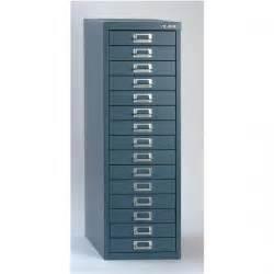 bisley soho h860mm multi drawer 15 steel filing