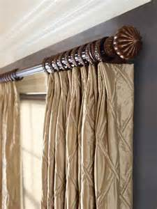 Short Curtain Brackets Decorative Curtain Rods Decor By Steve