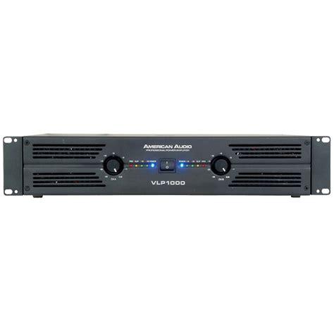 Power Lifier American american audio vlp1000 power lifier