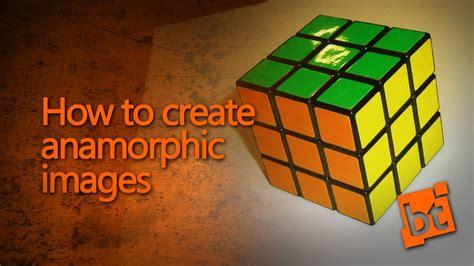 printable anamorphic art how to create anamorphic images youtube