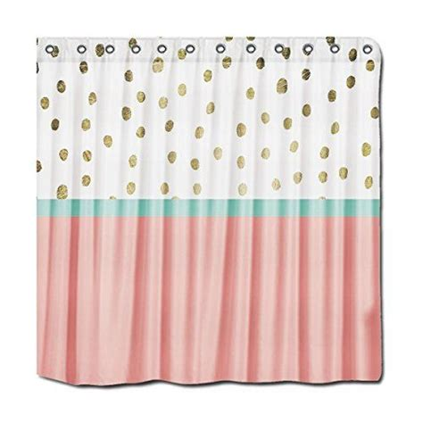 coral colored shower curtain 1000 ideas about coral shower curtains on pinterest
