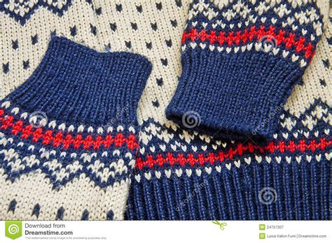 nordic knitting nordic knit sweater up royalty free stock