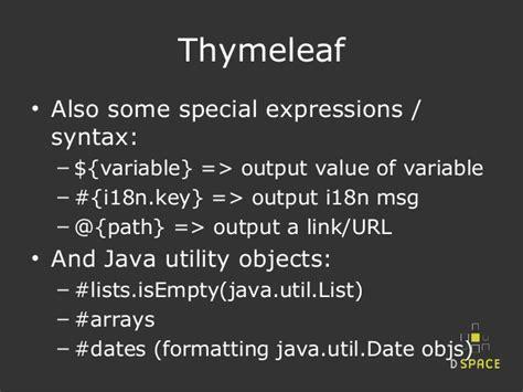 thymeleaf layout javascript dspace ui prototype challenge spring boot thymeleaf
