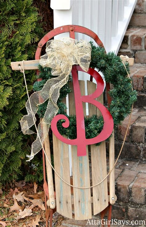 top 40 sleigh sled decoration ideas for christmas