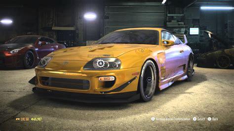 toyota supra top speed need for speed 2015 toyota supra top speed