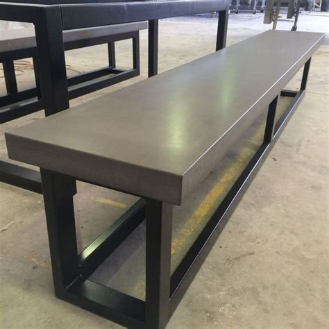 concrete bench seat 21 best images about polished concrete bench seats