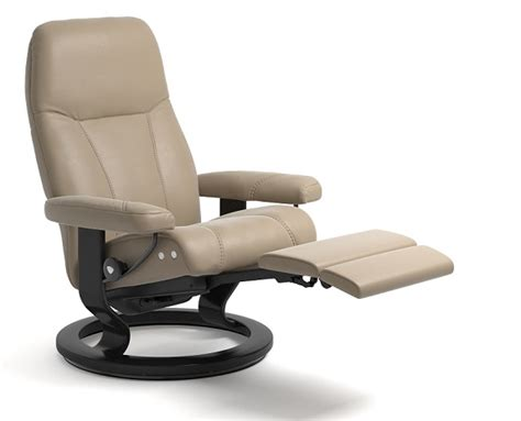 Ekornes Sessel by Stressless Consul Leather Recliner Chairs