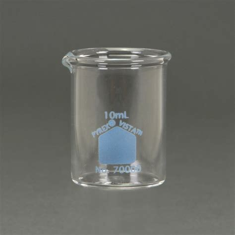 Beaker Glass 10 Ml pyrex 174 vista beaker 10 ml pack of 12 carolina
