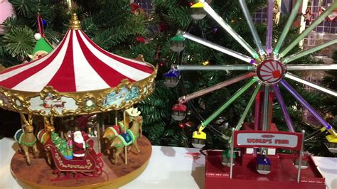 christmas merry   carousell ferris wheel  box youtube
