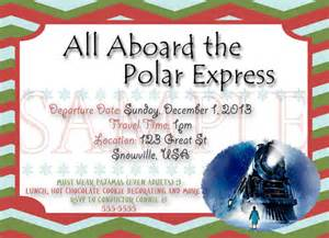 items similar to polar express digital invite on etsy