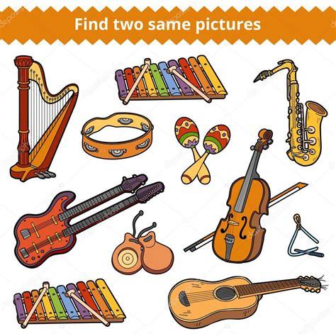 imagenes de instrumentos musicales medievales encontrar dos fotos mismo conjunto de vectores de