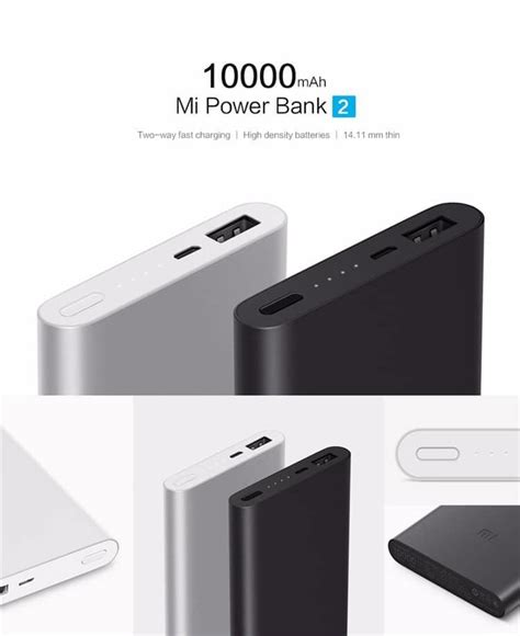 Sale Promo Powerbank Xiaomi 10000 Mah Original Free Silicone Ti1139 xiaomi mi portable powerbank v2 quic end 1 25 2019 5 36 pm