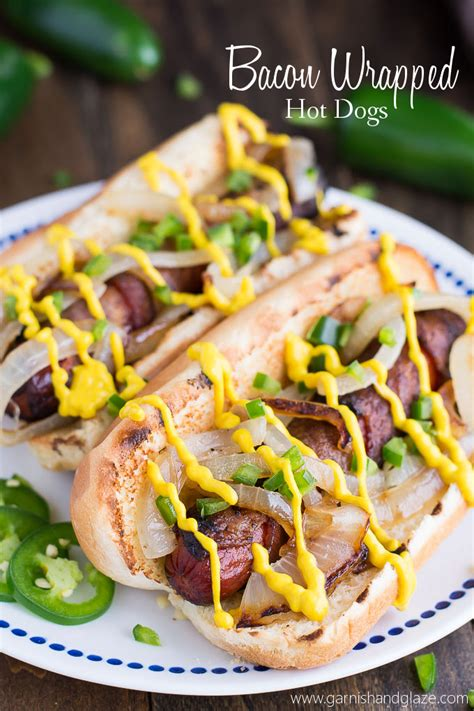 bacon wrapped dogs grill bacon wrapped dogs