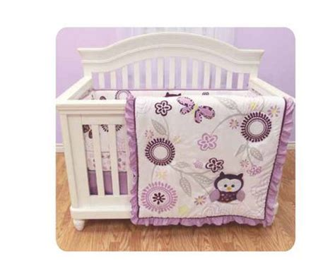 walmart baby cribs on sale baby s by nemcor quot berry owl quot 3pce crib set for
