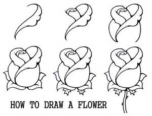 1000 ideas about easy to draw rose on pinterest print