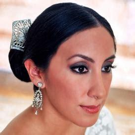 spanish women hairstyle spanish chignon hairstyle art deco design