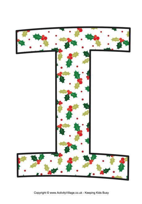Traditional christmas letter printable i