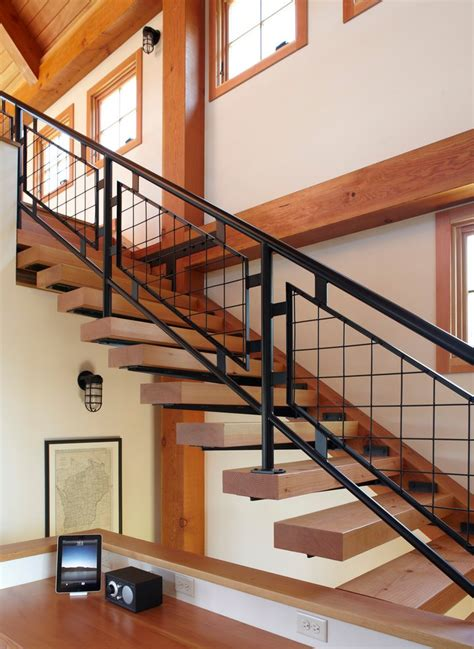 milwaukee outdoor stair railing ideas staircase farmhouse