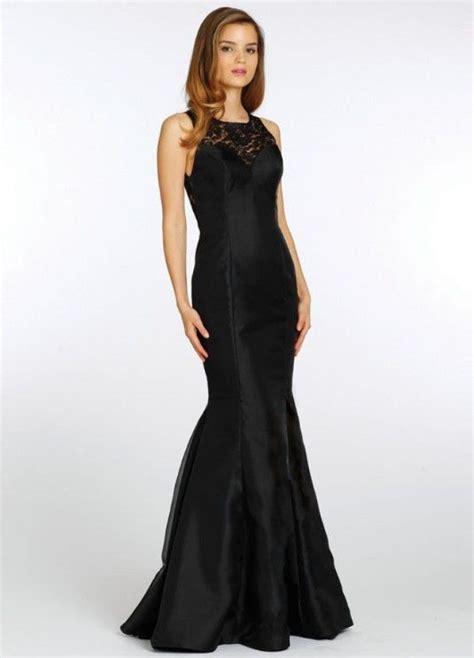 Black Bridesmaid Dress by Black Mermaid Bridesmaid Dresses Suitable With Slim Fit