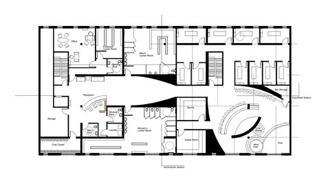 floor plan of a salon spa studio project by allyson wyand at coroflot com