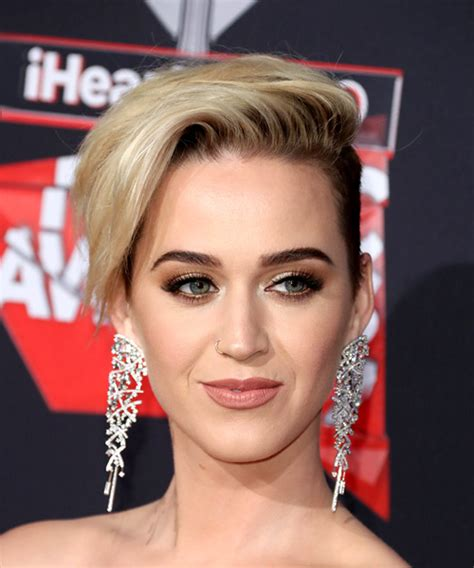 Katy Perry Hairstyle by Katy Perry Alternative Asymmetrical