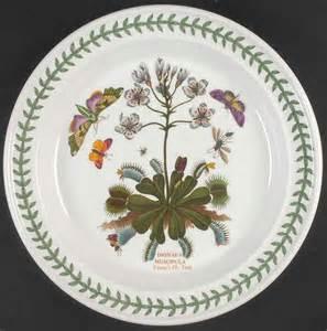 Botanic Garden Dishes Portmeirion Portmeirion Botanic Garden Venus Flytrap Dinner Plate S4697618g2 Ebay
