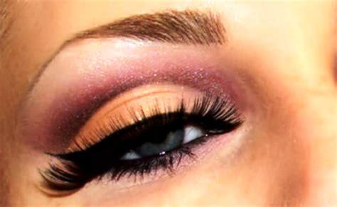 tutorial makeup natural peach natural peach and plum cut crease makeup tutorial