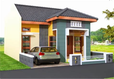 gambar kanopi dak beton desain rumah