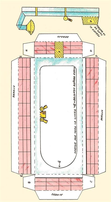 doll house paper 81 best dolls house printables bathroom images on