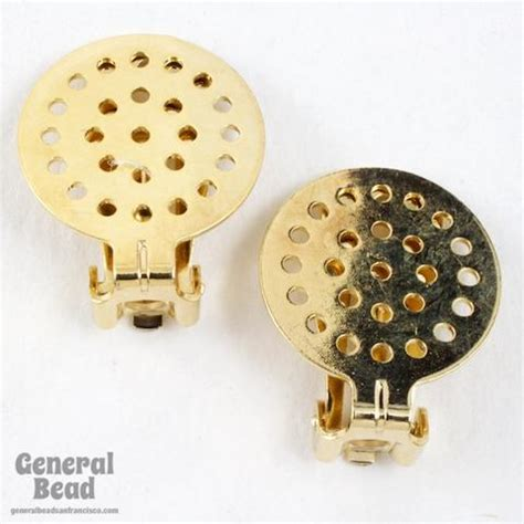 general bead earring components general bead