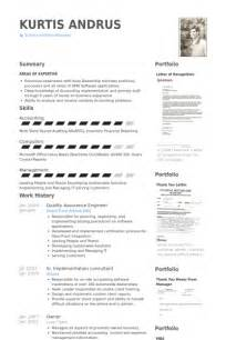 Quality Assurance Resume Exles by Quality Assurance Resume Sles Visualcv Resume Sles Database